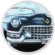 Caddie - 1955 Round Beach Towel