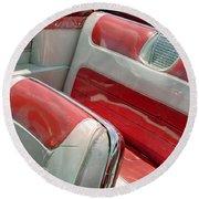 Cadillac El Dorado 1958 Seats. Miami Round Beach Towel
