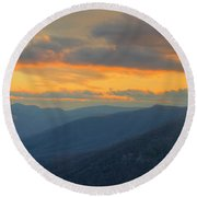 Caesars Head Light Round Beach Towel