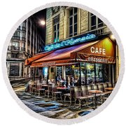 Cafe Collection Round Beach Towel