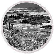 California Coast No. 9-2 Round Beach Towel