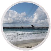 California Kisses Round Beach Towel