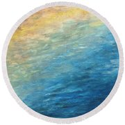 Calipso Round Beach Towel
