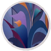 Calla Collection Round Beach Towel