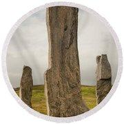 Callanish Standing Stones Round Beach Towel