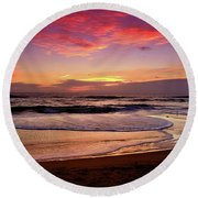 Calm After The Storm Round Beach Towel by Scott Cameron