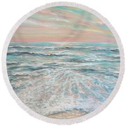 Calm Seas Round Beach Towel