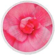 Camellia Soft Round Beach Towel