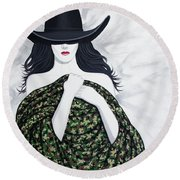 Camo Round Beach Towel