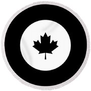 Canada Round Beach Towel by Pierre Leclerc Photography