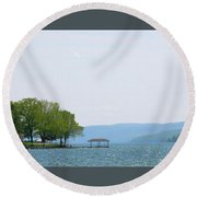 Canandaigua Lake Round Beach Towel