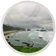 Cannon Coast Round Beach Towel