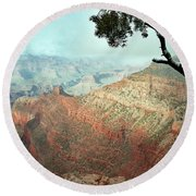 Canyon Captivation Round Beach Towel