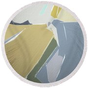 Canyon Round Beach Towel