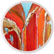Canyon Reverie Round Beach Towel
