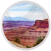 Canyonlands National Park Round Beach Towel