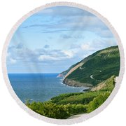 Cape Breton Highlands National Park Round Beach Towel