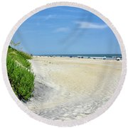 Cape Hatteras National Seashore Round Beach Towel
