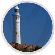 Cape Leeuwin Light House Round Beach Towel