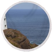Cape Spear Round Beach Towel