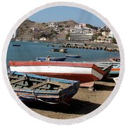 Cape Verde Round Beach Towel