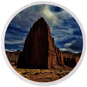 Capitol Reef Round Beach Towel