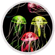 Captivating Connectivity Round Beach Towel by Jorgo Photography - Wall Art Gallery