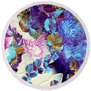 Captivating Round Beach Towel