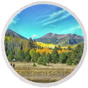 Captured Round Beach Towel by Tom Kelly