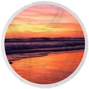 Cardiff Colors  Round Beach Towel