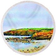 Cardigan Bay Round Beach Towel