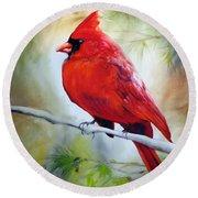 Cardinal 18 Round Beach Towel