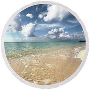 Carib View Round Beach Towel