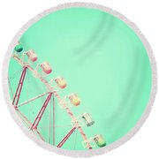 Carnival Round Beach Towel by Delphimages Photo Creations