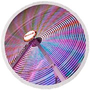 Carnival Spectacle Round Beach Towel