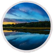 Carolina Round Beach Towel