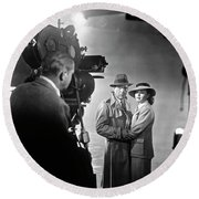 Casablanca Director's Cut  1942 Round Beach Towel