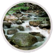 Cascading Water Round Beach Towel