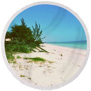 Round Beach Towel featuring the photograph Casey Key, Florida by Gary Wonning