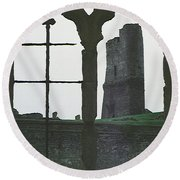Castle Round Beach Towel