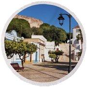 Castro Marim - Algarve, Portugal Round Beach Towel