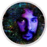 Cat Stevens Round Beach Towel