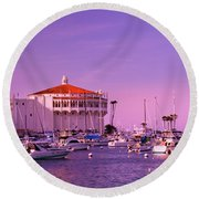 Catalina Casino Round Beach Towel