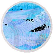 Catching Waves Round Beach Towel by Stephanie Grant