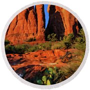 Cathedral 06-074 Round Beach Towel