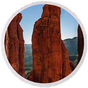 Cathedral 07-056 Round Beach Towel