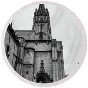 Cathedral Round Beach Towel