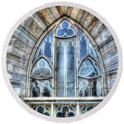 Cathedral Window Milan Round Beach Towel