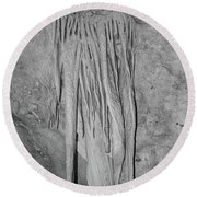 Cavern View 3 Round Beach Towel by James Gay