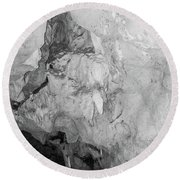 Cavern View 5 Round Beach Towel by James Gay